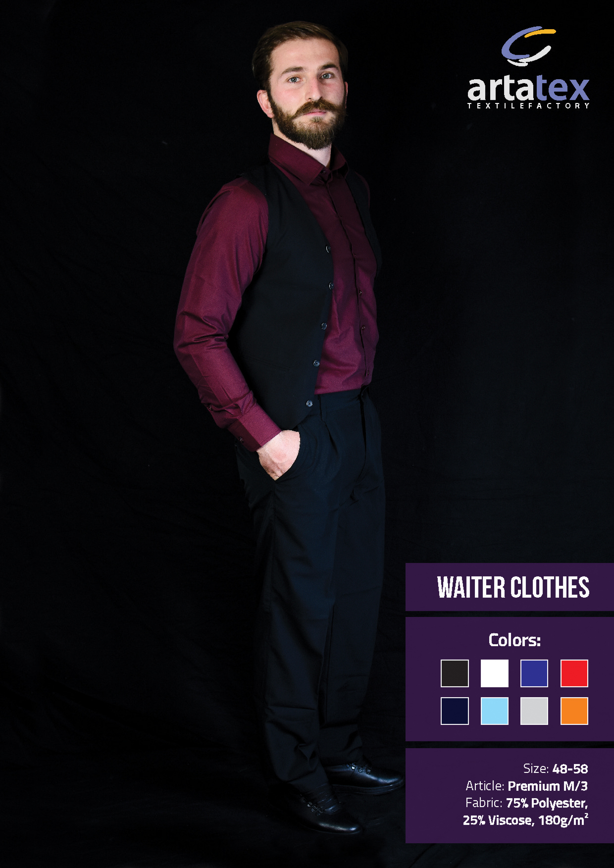 ArtaTex - Waiter Clothes