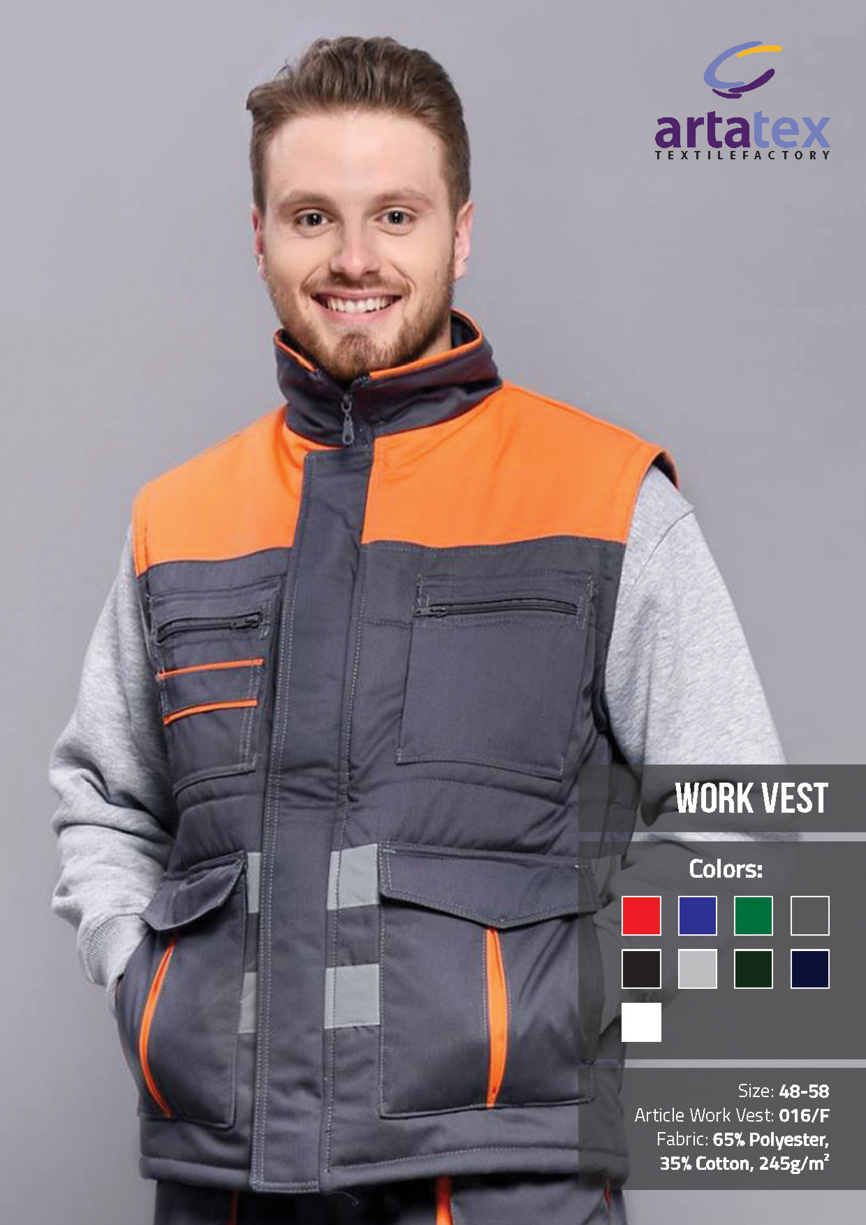 ArtaTex - Work Vest